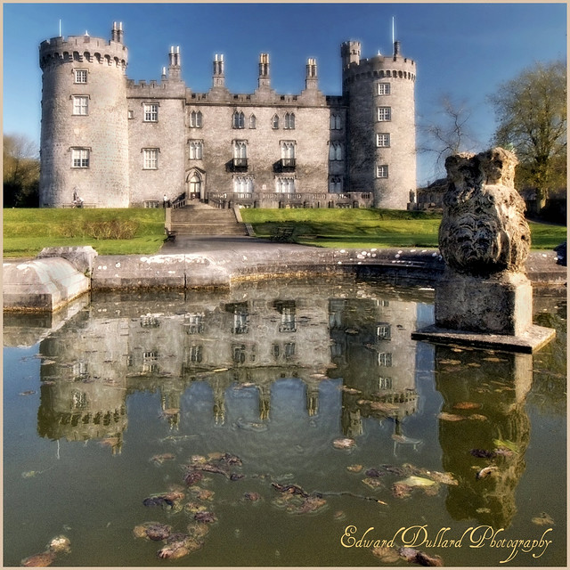 CASTLE REFLECTIONS by EDWARD DULLARD PHOTOGRAPHY. KILKENNY, IRELAND.