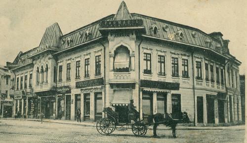 Cladirile de langa palatul bailor municipale - 1926