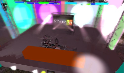 room 55 stage on avatarlife sim
