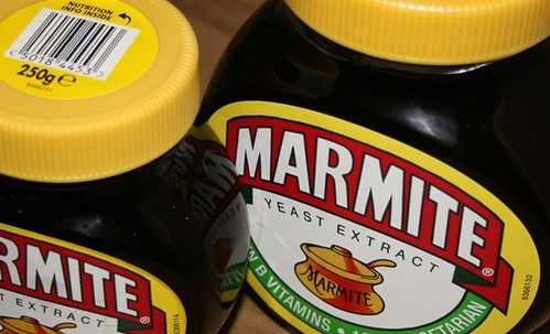 Close-cropped marmite