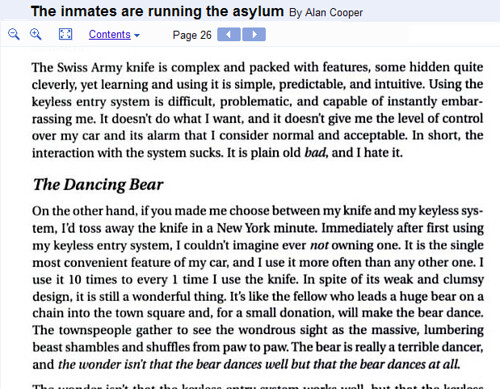 The Dancing Bear | The inmates are running the asylum | Alan Cooper