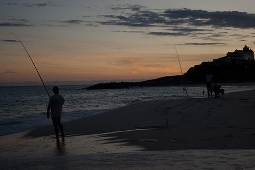 Saquarema - Fishermen at Sunset