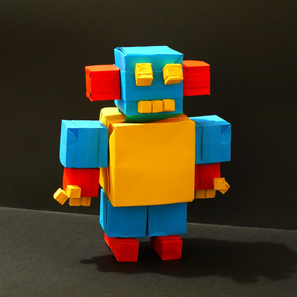 Oriland robot by Mammaoca2008