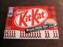 Royal Milk Tea KitKat