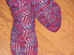 Twisted Rib socks 2