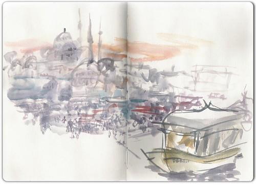 Sketching Istanbul