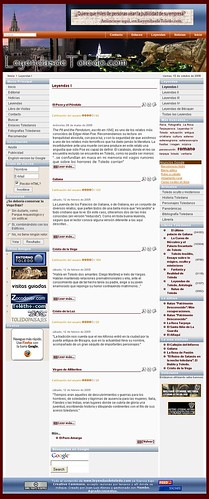 Leyendasdetoledo.com en 2005