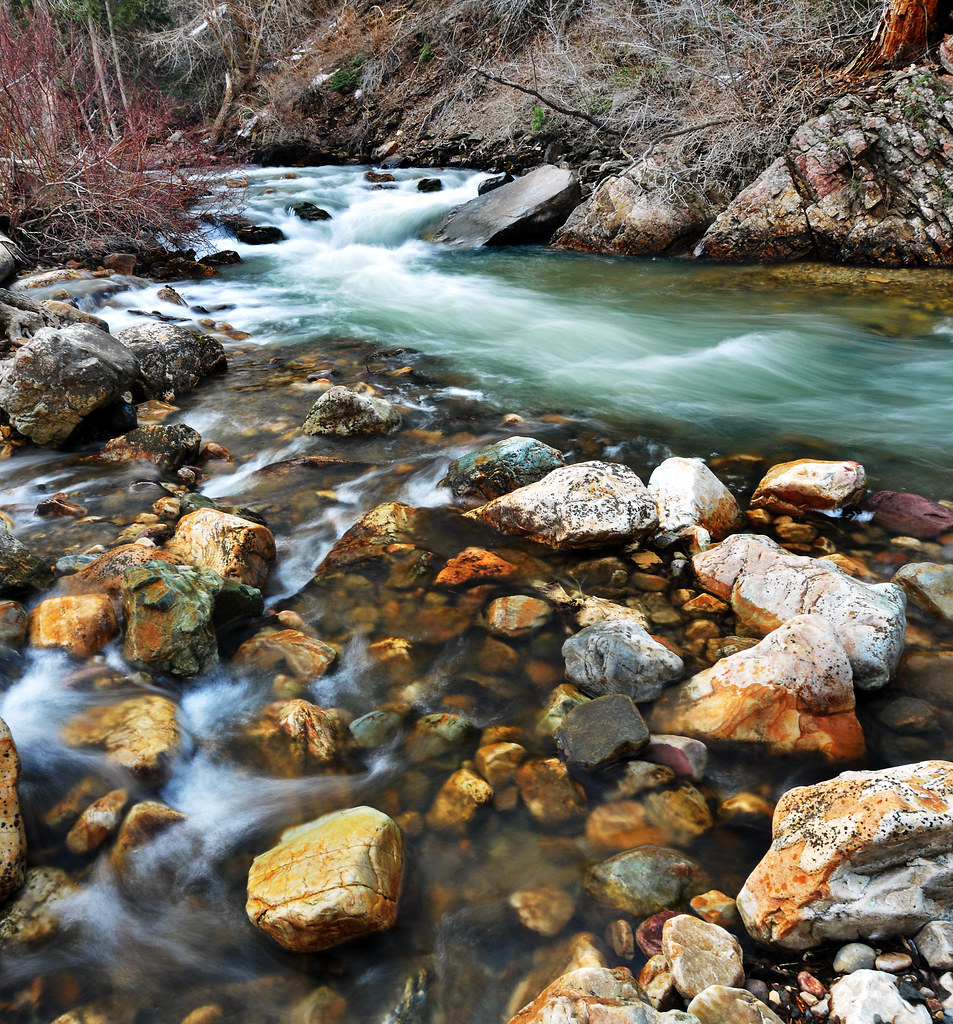 big cottonwood creek spring am 12
