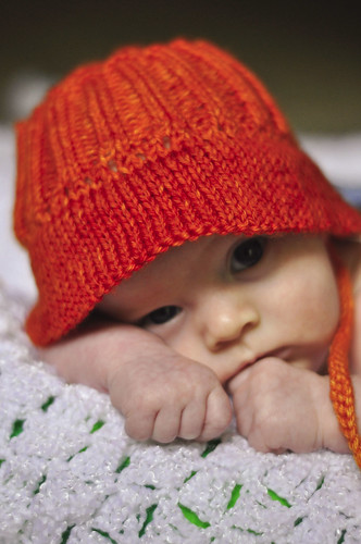 Knitted Bucket Hat Pattern : Three Little Knitted Frogs: A Sun Hat