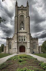 Carleton College Campus - 17 (GeoffMyers.com) Tags: sky panorama cloud detail building college architecture clouds contrast photoshop canon buildings campus intense raw cloudy geoff dramatic overcast panoramic dslr processed enhanced carleton myers detailed carletoncollege tonemapped geoffmyers digitalrebelxsi topazadjust