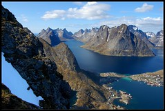 Reine in the Lofotens. (SBDW1) Tags: norway lofoten reine reinebringen