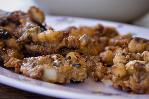 Squid Omelette