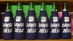 DAWGS OF 2010 (Order at: thekooziefloozie@aol.com) Tags: beer basketball sanantonio spurs custom personalized koozies