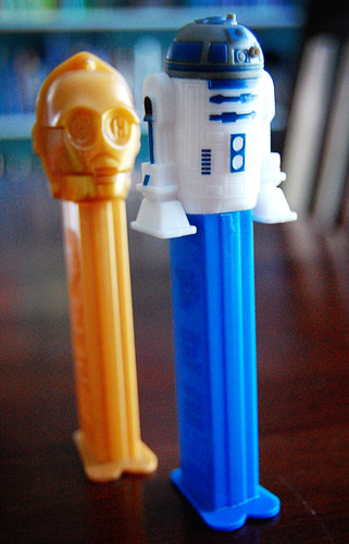 C3PO and R2D2 Pez