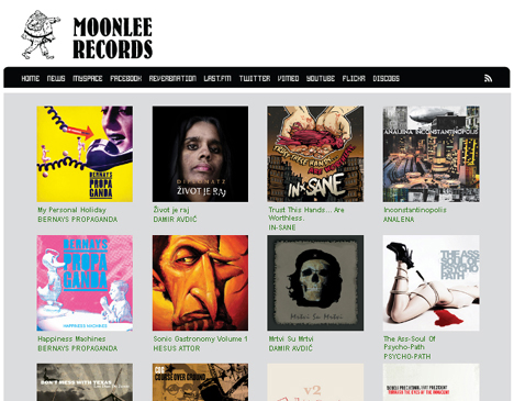 Moonlee records Bandcamp