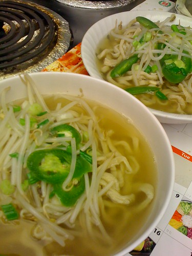 Homemade noodle soup (2)