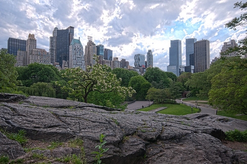 Results: Central Park Hiking an HDR Photograph