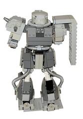 MS-06F Zaku II (psychotic2688) Tags: lego zaku mecha mech gundamlegomechmechazaku