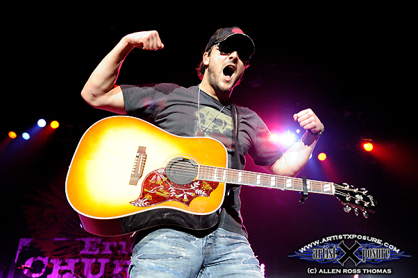 Eric Church live with Rowdy Friends Tour