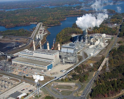 Scrubbers Power Plants. Duke Energy Power Plants (Set)