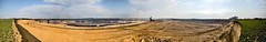 Tagebau Garzweiler 270° panorama 24Mpx (Lennert van den Boom) Tags: d50 germany nikon mine nordrheinwestfalen tagebau excavator bagger bwe garzweiler northrhinewestphalia rwe openpitmine lignite schaufelradbagger bucketwheelexcavator dagbouw