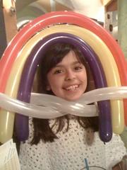 Jaclyn is my little rainbow