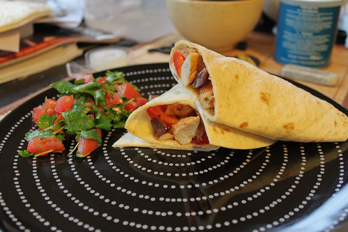Food Mob - Chicken Fajitas