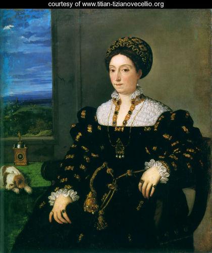 Titian, Eleonora Gonzaga della Rovere