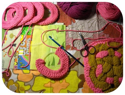 tutorial :: woven circles trivet