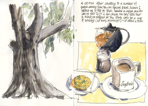100515 Sketchcrawl27_09 Afternoon Tea