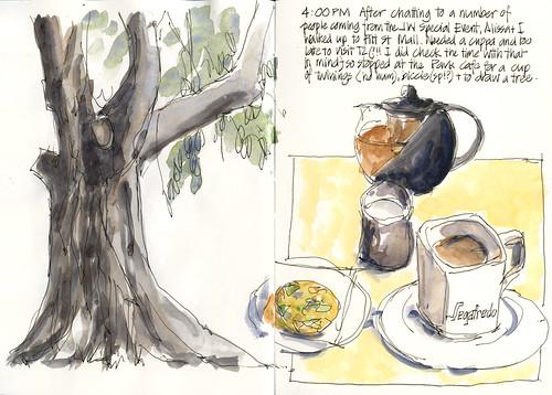 100515 Sketchcrawl27_09 Afternoon Tea