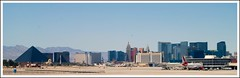 The virgin strip (tiffa130) Tags: newyork sphinx plane airplane airport nikon lasvegas creative may commons virgin strip creativecommons hotels airlines luxor landed excalibur 2010 nikond40x