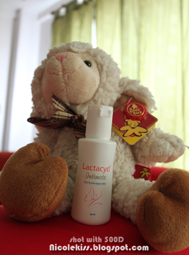 sheepy with 40ml lactacyd