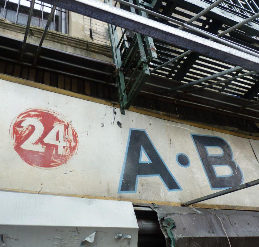 24 A B