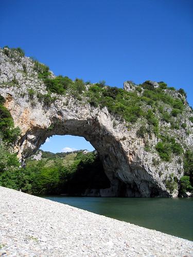 Canoeing Down Gorges de L'Ardeche