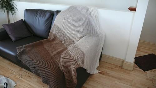 Ombre Alpaca Blanke