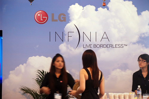 caricature live sketching for LG Infinia Roadshow - day 1 - 10