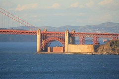 Fort Point from Lands End (JB by the Sea) Tags: sanfrancisco california water canon goldengatebridge landsend fortpoint sanfranciscobay may2010