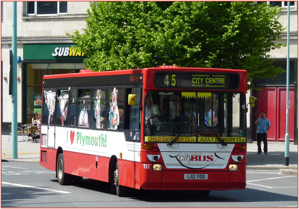 Plymouth Citybus 112 L112YOD
