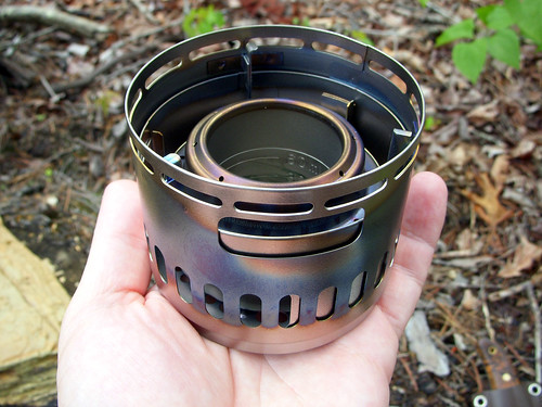Evernew DX Alcohol Stove Set unboxed