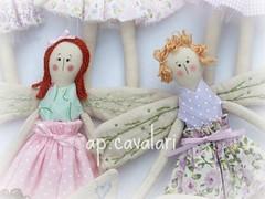 ruivas, cachos dourados (AP.CAVALARI / ANA PAULA) Tags: bonecas fairy patchwork fadas dolss anjinhas anapaulacavalari apcavalari