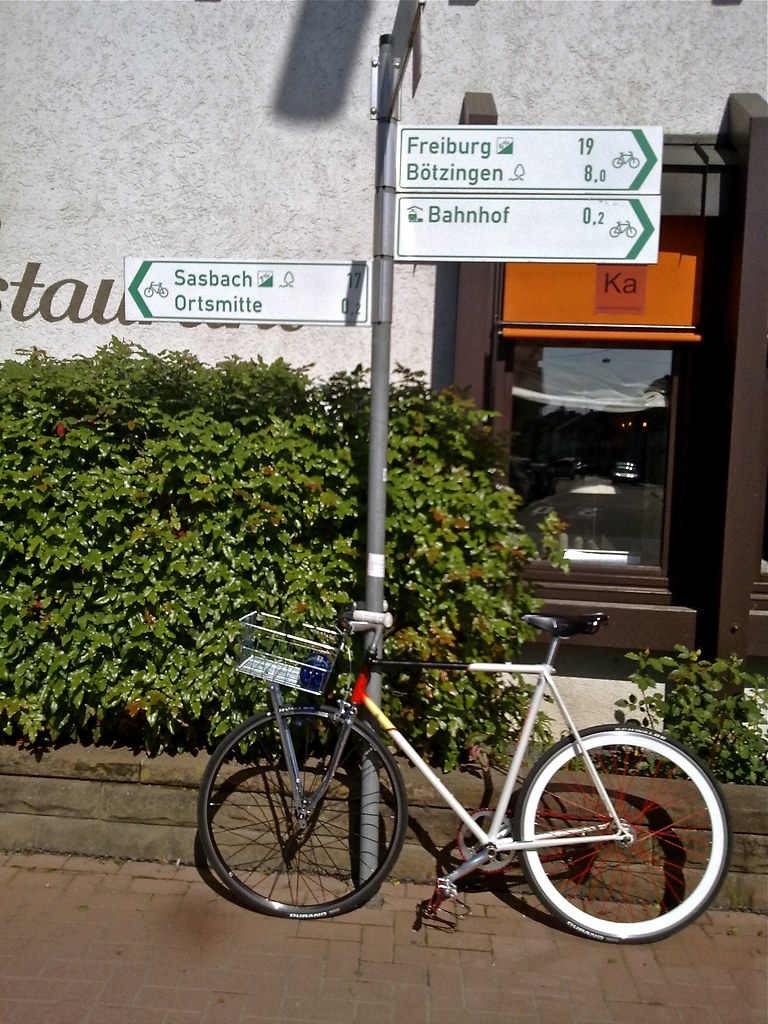Cycling Specific Signs
