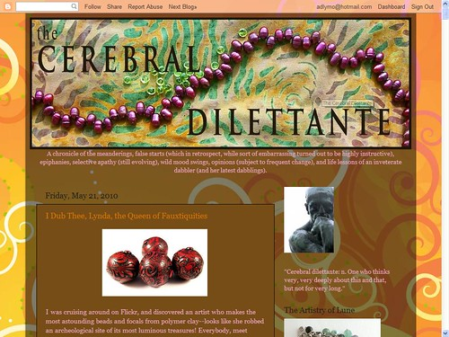 Cerebral Dilettante Blog Feature 1