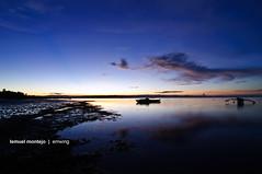 A Break From The Lovers (Lemuel Montejo) Tags: sunset sky beach nature silhouette night landscape nikon tokina1224 explore bohol panglao d90 explored nikond90 boholano emwing emwingmontejo lemuelmontejo peregrino27newvision