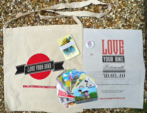 The Love Your Bike Portsmouth Goodie Pack
