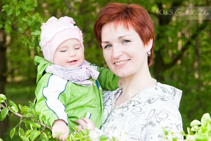 весенняя фотосессия Олюшки и Люды