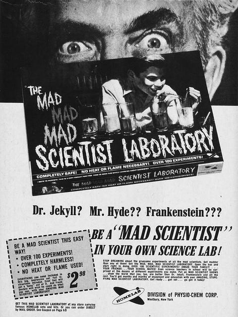 The Mad Mad Mad Scientist Laboratory