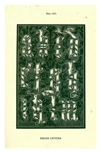 015-Siglo XVI-The hand book of mediaeval alphabets and devices (1856)- Henry Shaw