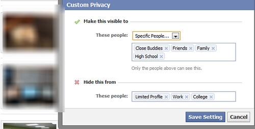 Protect photos on Facebook