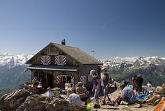 Gipfel des Grossen Mythen (mwellner) Tags: schweiz bergwandern gipfel kantonschwyz grosermythen